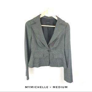 My Michelle women's medium gray blazer jacket